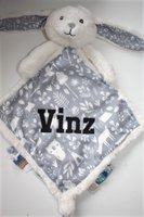 adventure knuffeldoek blauw Little Dutch