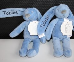 rabbit richie 19 cm met naam borduren Happy Horse